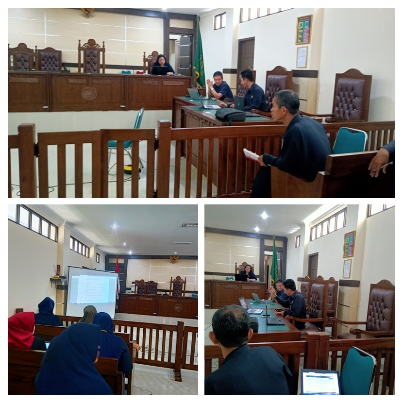 Pelatihan Dasar Teknologi Informasi Pengadilan Negeri Maros