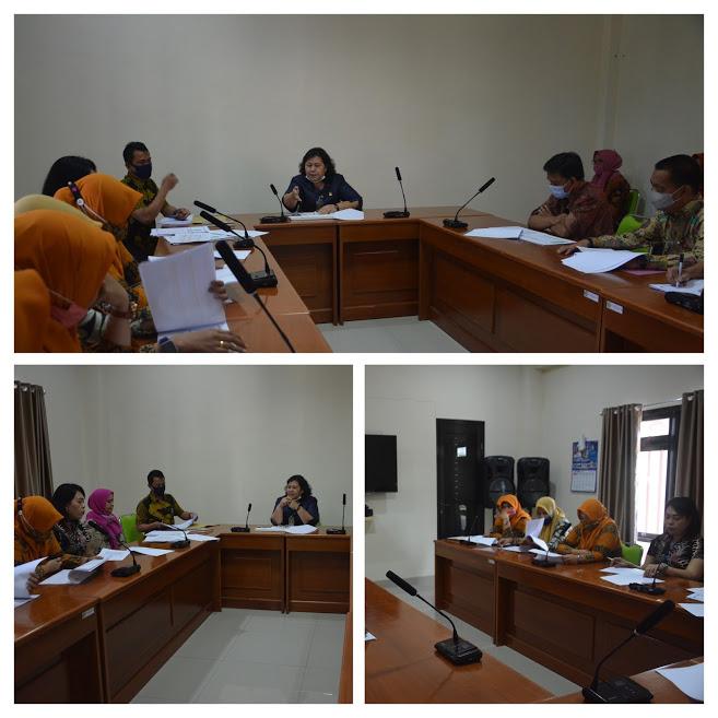 Rapat Evaluasi Penilaian Kerja Pegawai Bagian Kepaniteraan PN Maros