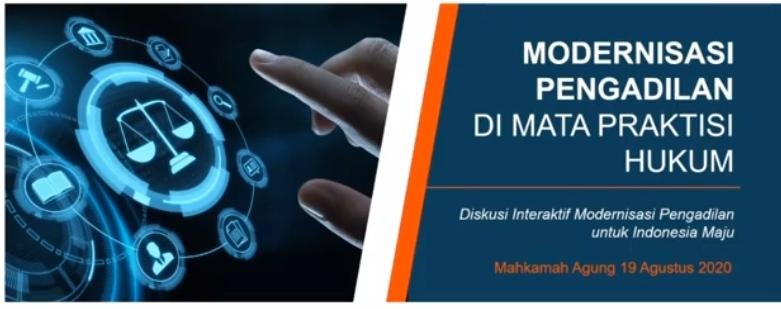 Ketua Mahkamah Agung Sampaikan Keynote Speech Dialog Interaktif Dalam Rangka Launching Direktori Putusan Mahkamah Agung Versi 3.0 Secara Virtual
